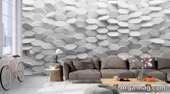 کاغذ دیواری طرحدار جدید