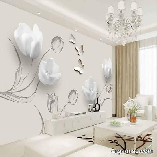 کاغذ دیواری زیبا و طرحدار