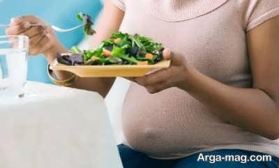 چه غذاهایی در دوران بارداری مفید است؟