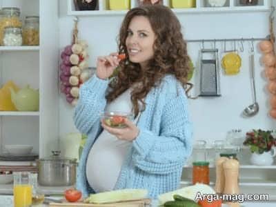خوردنی های مفید و لازم در بارداری