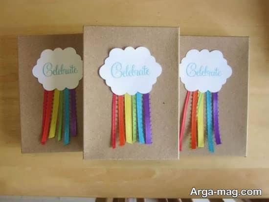 تهیه دعوت نامه تولد با تم رنگین کمان
