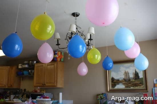 طراحی و تزیین اتاق با تم تولد رمانتیک