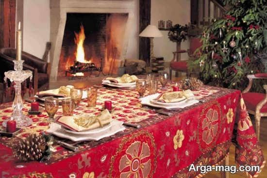 تزیین زیبا میز با تم تولد رمانتیک