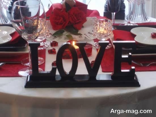 تزیین عالی میز با تم تولد رمانتیک