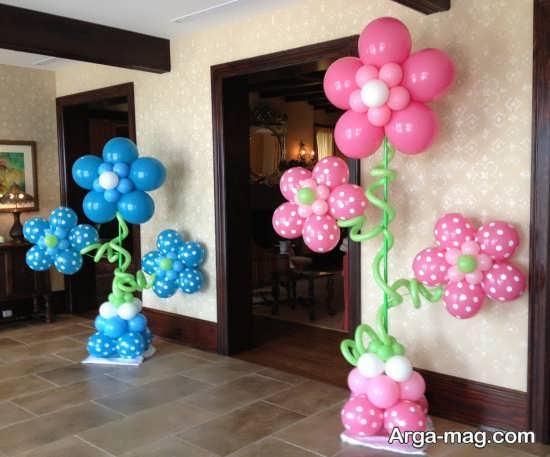 تزیین زیبای اتاق با تم تولد رمانتیک