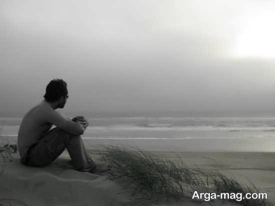 عکس تنهایی پسر