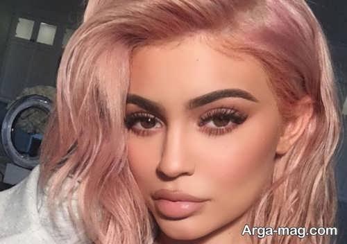 رنگ موی زنانه رز گلد
