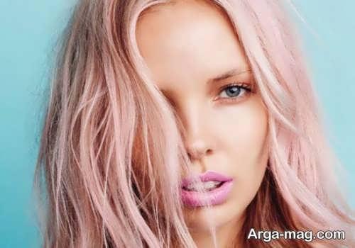 رنگ مو رز گلد زیبا و جدید
