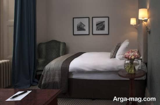 استفاده از تصاویر طبیعت در اتاق خواب