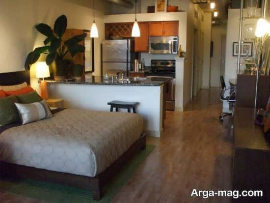 دیزاین فضای آپارتمان کوچک