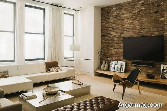 دکوراسیون مدرن آپارتمان کوچک