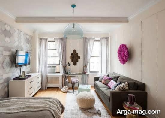 دکوراسیون ایده آل آپارتمان کوچک