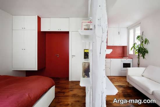دکوراسیون زیبا فضای کوچک آپارتمان