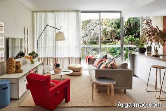 چیدمان عالی فضای کوچک آپارتمان