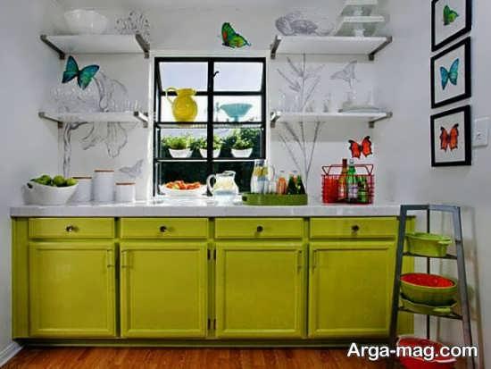 آشپزخانه های کوچک شیک