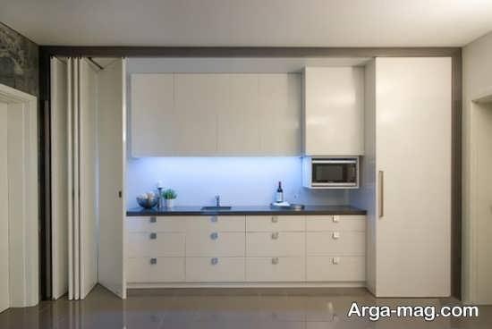 آشپزخانه های نقلی مدرن