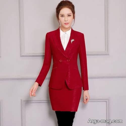 مدل کت و دامن شیک و جذاب زنانه