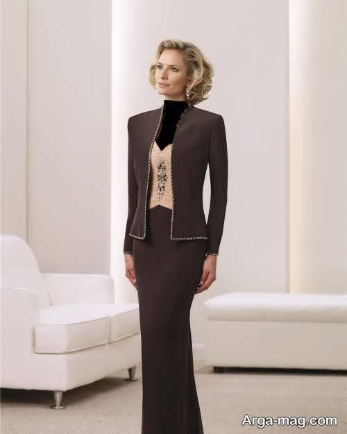 مدل کت و دامن جدید و بلند زنانه