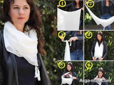 مدل بستن دستمال گردن