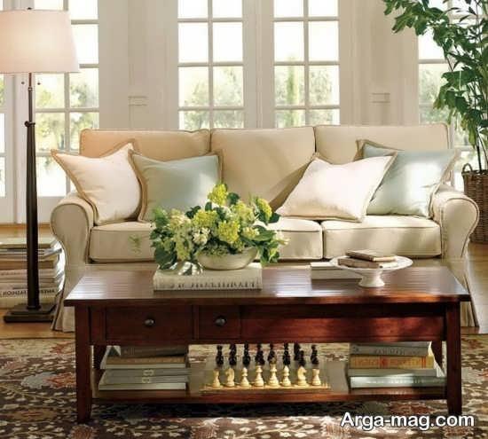 طراحی اتاق نشیمن به سبک کلاسیک