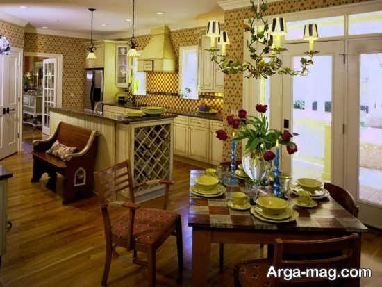 طراحی داخلی منزل به سبک کلاسیک