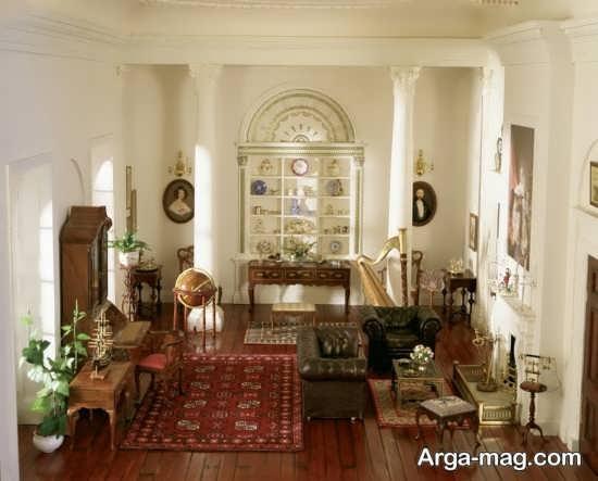 طراحی داخلی فضای منزل به سبک کلاسیک