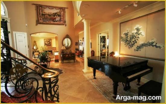 چیدمان سنتی فضای داخل منزل