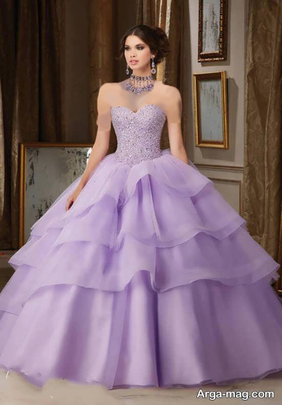 مدل لباس مجلسی دخترانه یاسی