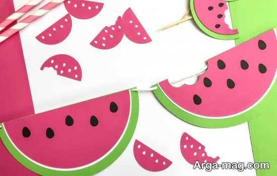 ساخت میوه هندوانه