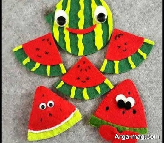 ایده شیک برای ساخت هندوانه