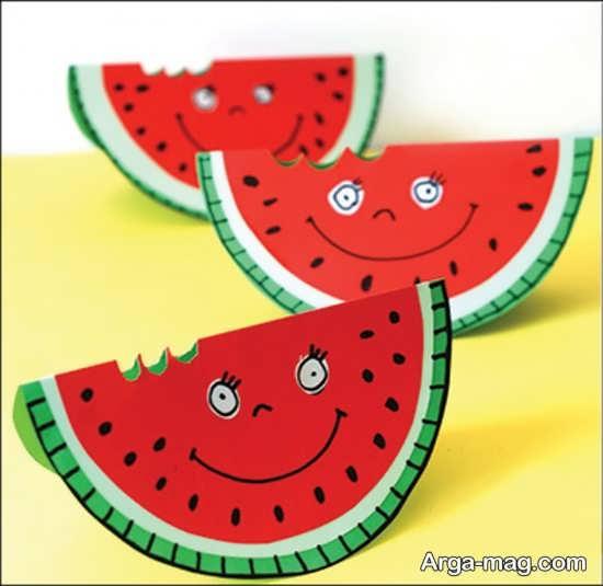 مدلی شیک از ساخت هندوانه