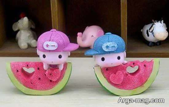 ساخت هندوانه به شکل جذاب