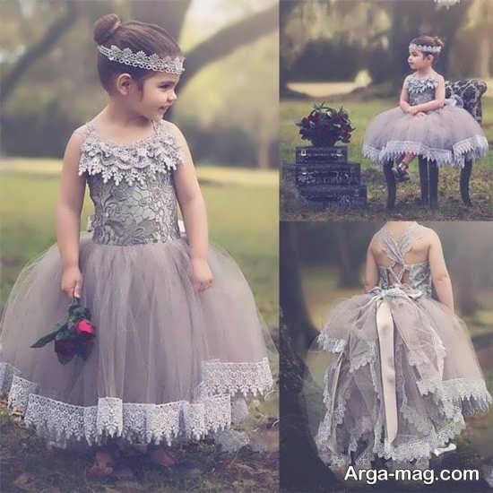 لباس عروس برای دختر بچه ها