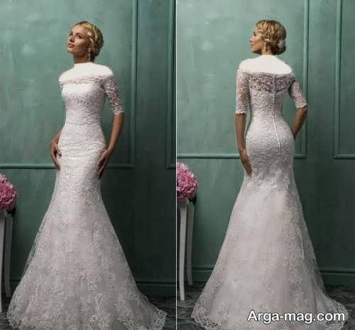 لباس عروس برای افراد قد بلند