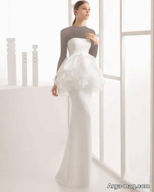 مدل لباس عروس برای خانم های قد بلند