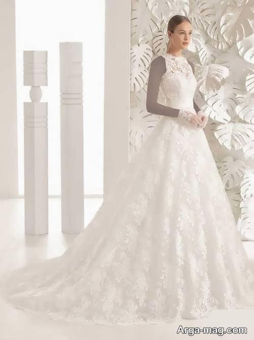 مدل لباس عروس برای افراد قد بلند و لاغر