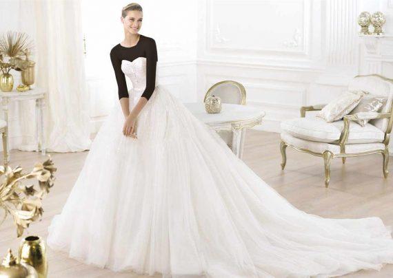 مدل لباس عروس برای افراد قد بلند