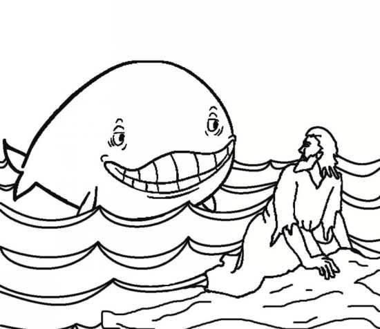 نقاشی فانتزی و جالب نهنگ