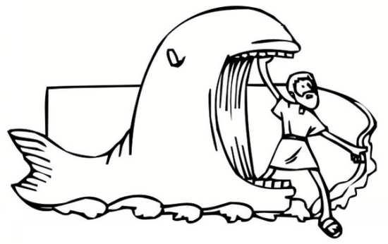 نقاشی جالب و فانتزی نهنگ