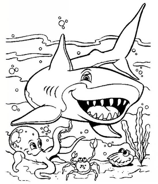 نقاشی کودکانه نهنگ
