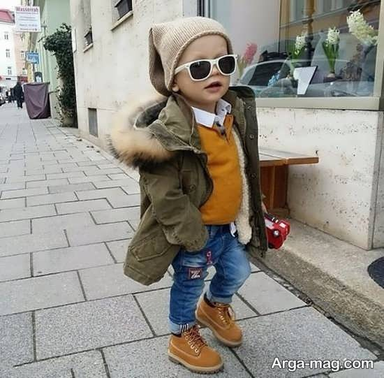 انواع لباس بچگانه زمستانی