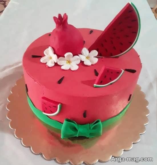 جدیدترین تزیین کیک شب یلدا