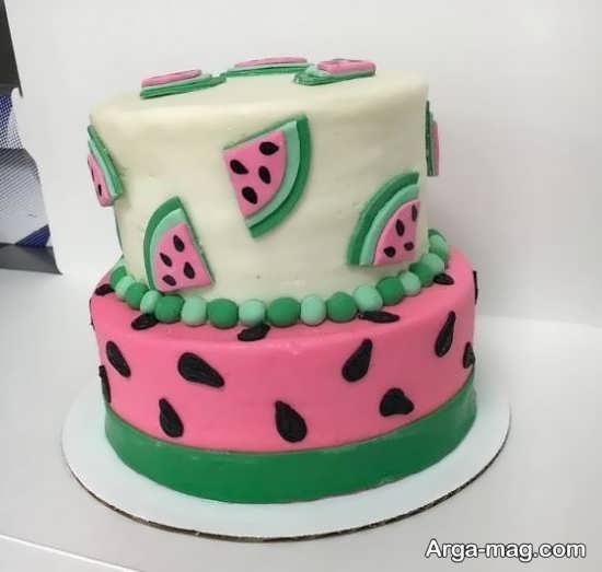 بهترین تزیین کیک شب یلدا