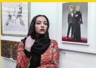 عکس های آناهیتا درگاهی همسر سابق محمد پروین در پشت صحنه نمایش در انتظار آدولف