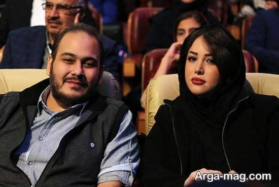 عکس جدید رضا داوود نژاد و همسرش