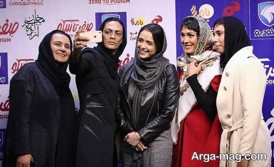 خواهران منصوریان در دومین اکران ویژه صفر تا سکو