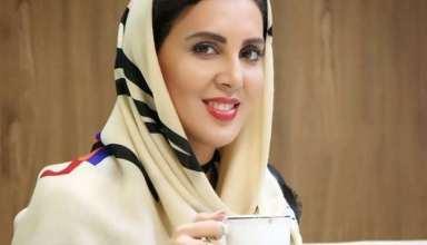 لیلا بلوکات در آسایشگاه شهید فیاض