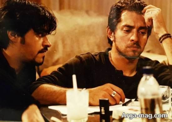شهاب حسینی و بهرام رادان