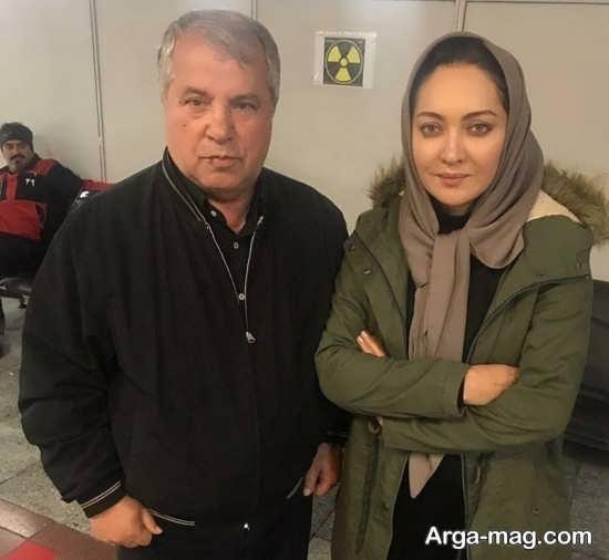 نیکی کریمی در مناطق زلزله زده کرمانشاه