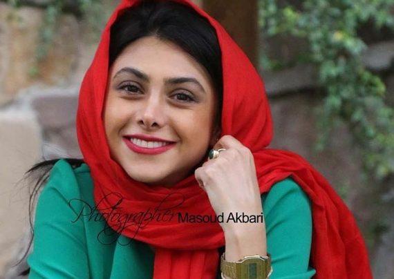 عکس های خاص آزاده صمدی برای روزنامه همشهری